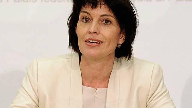 Doris Leuthard verurteilt Indiskretion