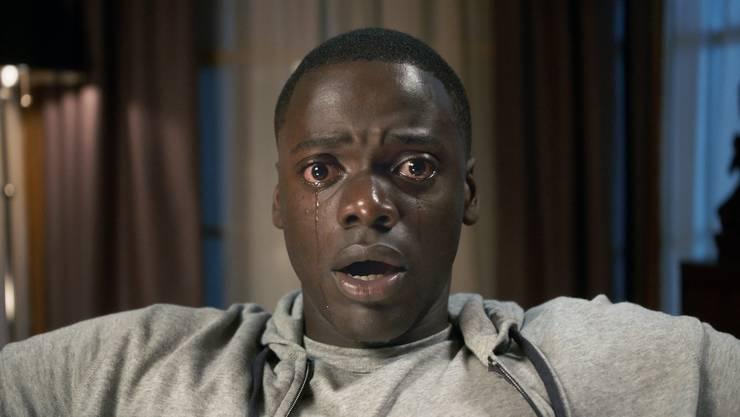 Das Grauen steht Chris (Daniel Kaluuya) ins Gesicht geschrieben: «Get Out» ist ein Horrorfilm über Rassismus in liberalen Kreisen.
