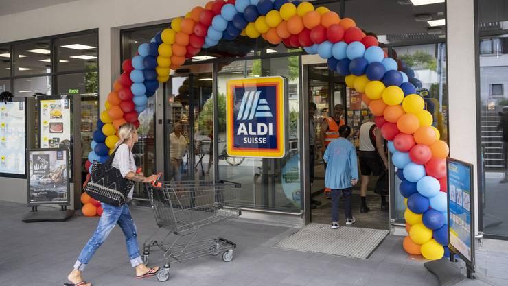 Nach zweiwöchigem Umbau feiert der Aldi in Fislisbach am Donnerstag Wiedereröffnung.