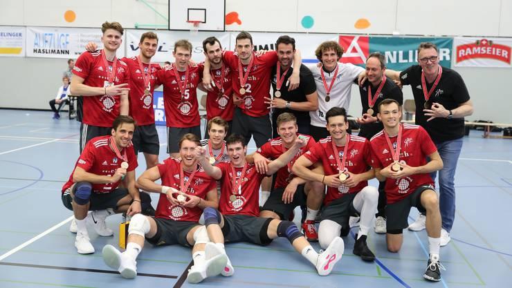 Volley Schönenwerd hat es geschafft und gewinnt die Bronze-Medaille.