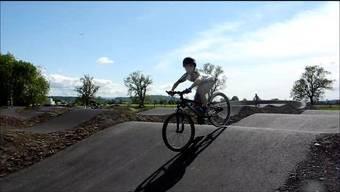 BMX-Strecke in Grenchen wird vor Eröffnung rege befahren
