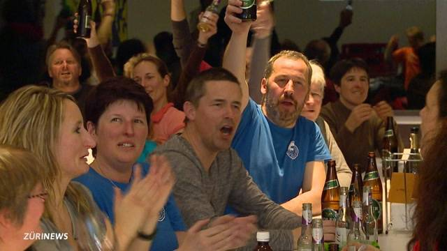 Weltmeister Küng: Grosser Jubel in der Heimat