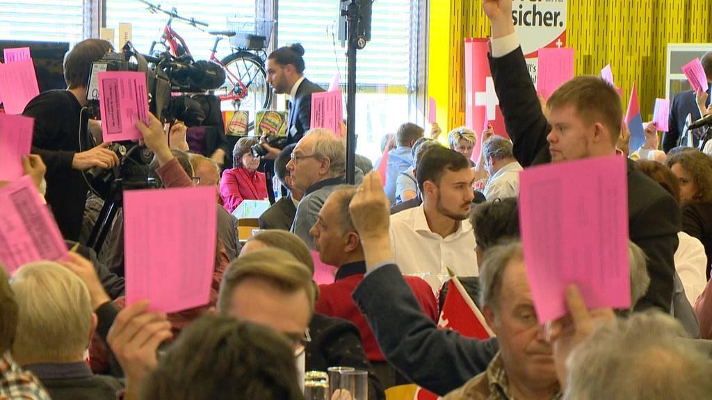 SVP beschliesst Stimmfreigabe für AHV-Steuer-Deal