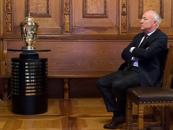 Für Roger Brennwald und seine Swiss Indoors geht es in diesem Jahr wohl nur noch um Schadensbegrenzung.