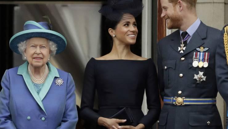 Die Queen macht Nägel mit Köpfen und zurrt die Rahmenbedingungen für das künftige Leben von Enkel Harry und seiner Familie fest. In einem Jahr sollen die vereinbarten Regelungen überprüft werden. (Archivbild)