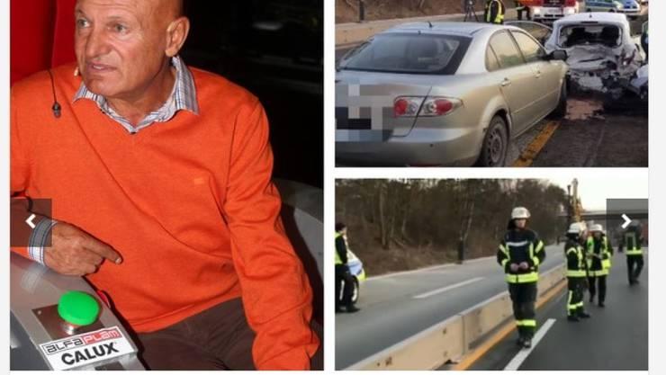 Wird in den einheimischen Medien als Serbiens bekanntester Volkssänger gefeiert: Der bei einem Verkehrsunfall in Deutschland getötete Saban Saulic.
