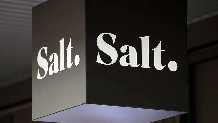 Das Salt-Logo sieht dem Logo der US-Firma Salt Optics ähnlich - zu ähnlich findet diese.