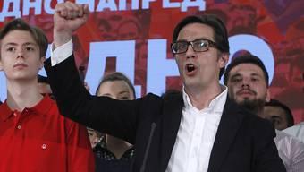 Wahlsieger: Der Sozialdemokrat Stevo Pendarovski wird der nächste Präsident Nordmazedoniens.