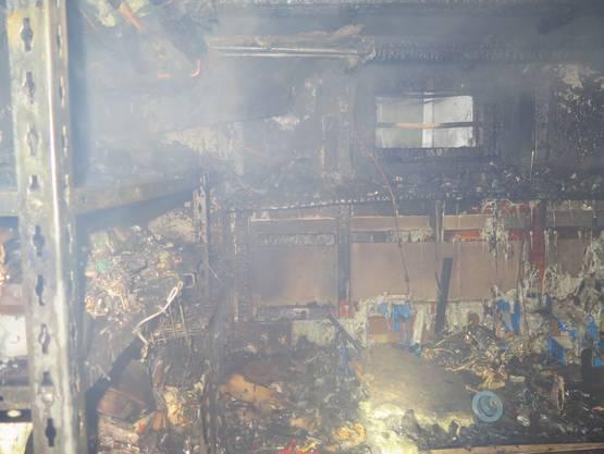 Verletzt wurde niemand. Es entstand aber erheblicher Sachschaden.