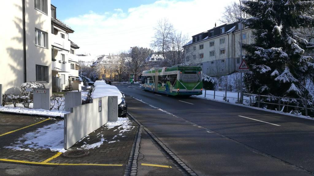 Die Swiss Trolley plus Busse werden in St.Gallen getestet.