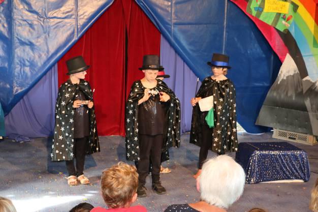 die kDie jungen Zauberkünstler treten in die Fussstapfen von Harry Potter