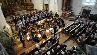 Konzert der Solothurner Singknaben in der St.-Ursen-Kathedrale