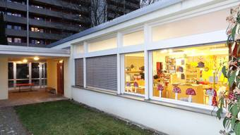 Kindergarten im Rheinfelder Augarten wird durch Neubau ersetzt. Quelle: Walter Christen