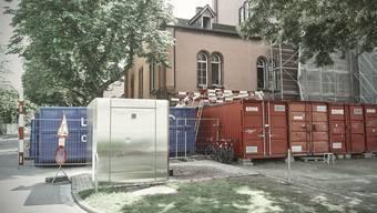Weil die heutigen Räumlichkeiten saniert werden, zieht die Moschee an den Unteren Rheinweg.