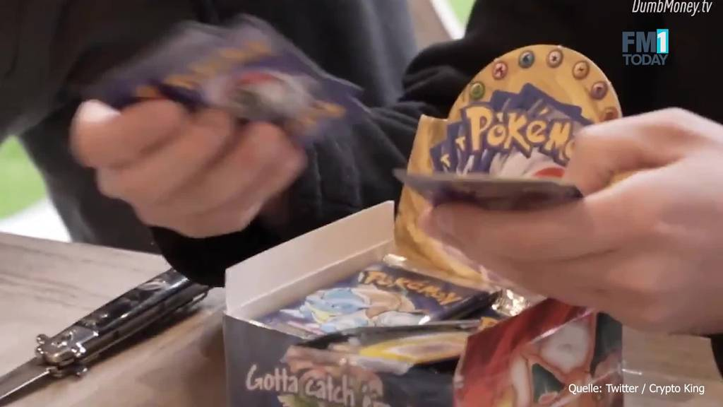 Investor kauft gefälschte Pokémon-Box für 350'000 Franken