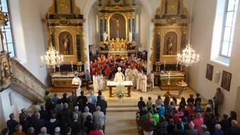 An die Kirchensanierung werden 30000 Franken bezahlt.