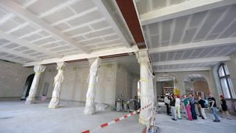 Tag der offenen Baustelle im Schweizer Landesmuseum