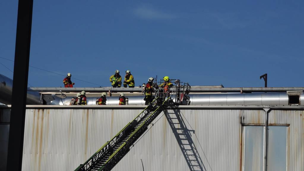 Brand in einer Firma in Cham