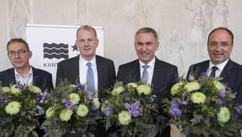 Eindrücke Wahlen AG im Ratskeller des Grossratsgebäudes Aarau