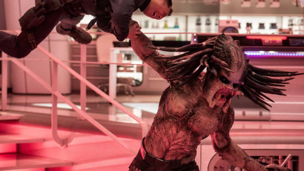 """Der Actionfilm """"The Predator"""" hat an seinem ersten Wochenende in den nordamerikanischen Kinos 24 Millionen Dollar eingespielt und damit die Spitze bei den Charts übernommen. (Archiv)"""