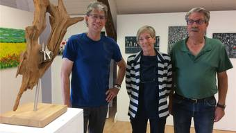 Godi Tresch, Erika Bosshard und Paul Heer (v.l).