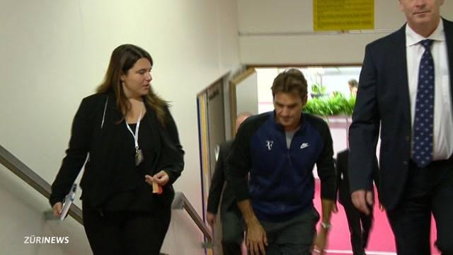 Bencic und Federer out wegen Rücken