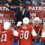 Das von Patrick Fischer gecoachte Schweizer Eishockey-Nationalteam startet an der WM 2019 in der Slowakei gegen Italien