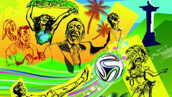 Die Fussball-WM beginnt schon bald und wir widmen die Samstagsausgabe dem Gastgeberland Brasilien.