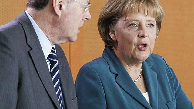 Merkel und Steinbrück verstehen sich