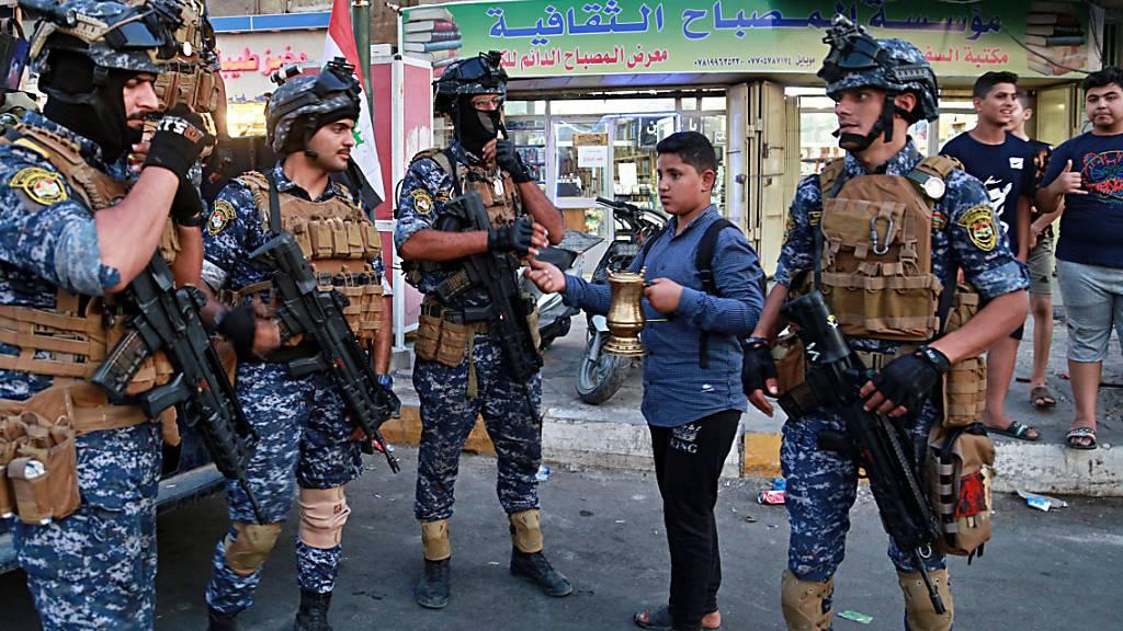 Erneut Proteste nach Gewalt in Bagdad