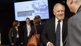 Bundesrat Johann Scheider-Ammann zu Besuch bei der Agathon