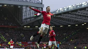 Fliegender Engländer: Wayne Rooney als Doppeltorschütze für ManU