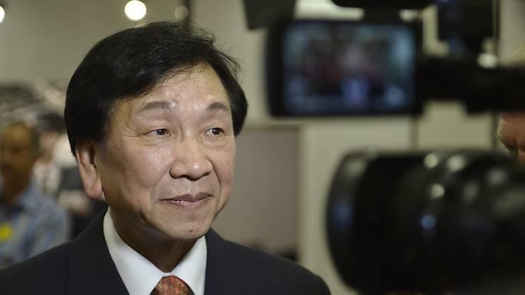 Wu Ching-Kuo aus Taiwan während eines Interviews im Jahr 2013 in Lausanne