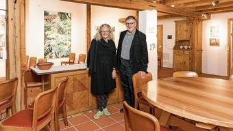 Martha und Franz-Friedrich Fischer freuen sich darauf, ihr kulturelles Engagement in ihrem Bauernhaus fortzusetzen.