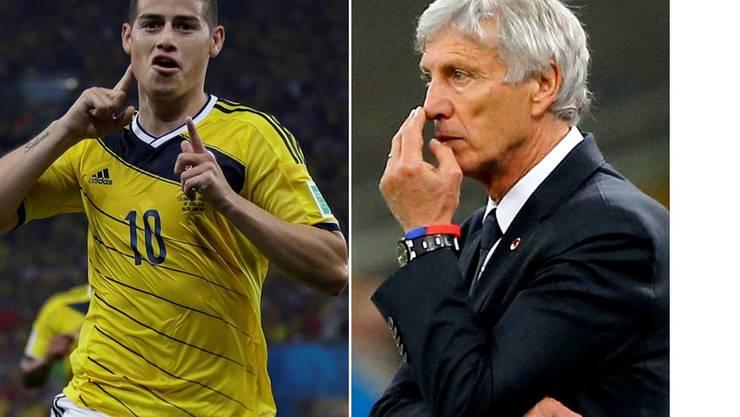 Hat mit James Rodriguez ein grosses Talent in seinem Team: Kolumbien- Coach José Pékerman