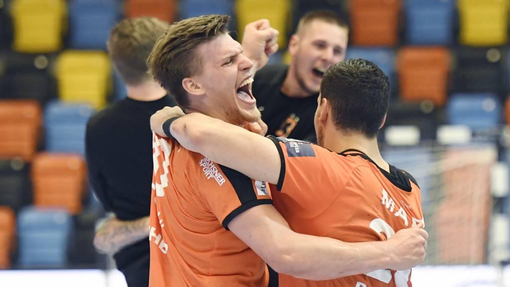 Pfadi und Kadetten im Playoff-Final