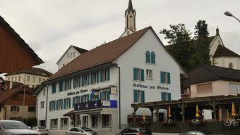 Das Restaurant Sternen in Leuggern wird in eine Pension umgebaut.