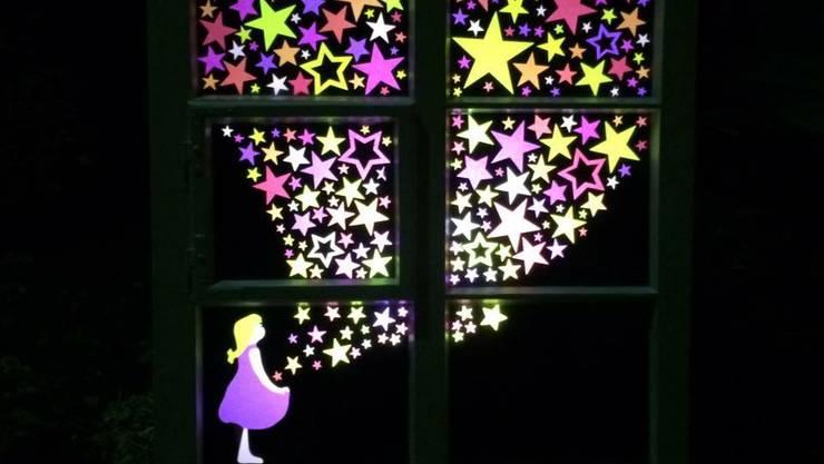 Das Adventsfenster von Sabrina Uebelhart aus Solothurn
