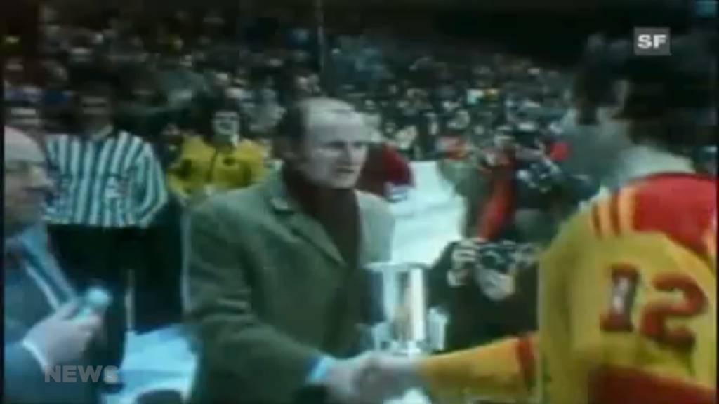 Eishockey-Legende Simon Schenk gestorben