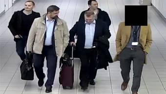 Die vier Russen wurden im vergangenen April ausgewiesen.AP/Keystone