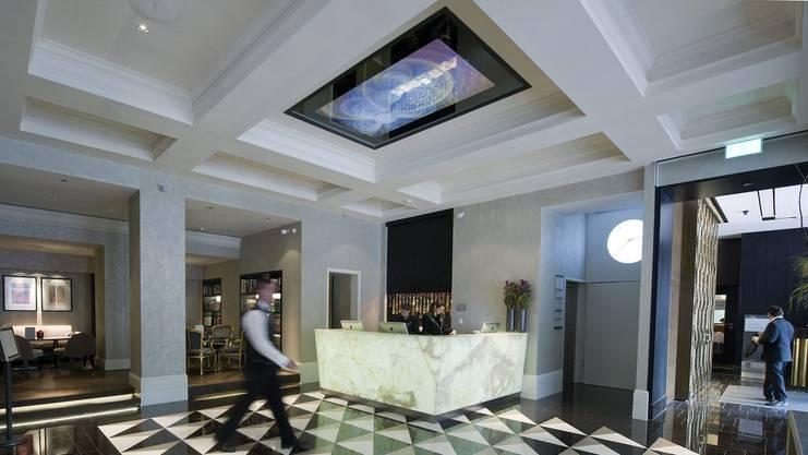 Hat sich Michael Lauber hier im Berner Hotel Schweizerhof mit Gianni Infantino getroffen?