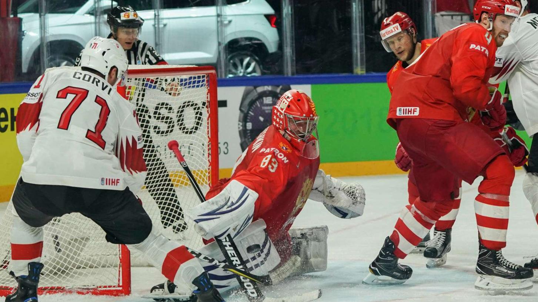 Die Schweiz verliert gegen Russland