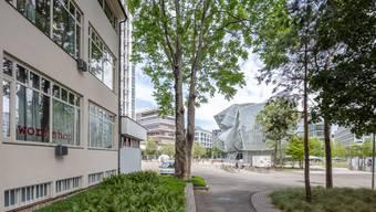Aussenansicht Switzerland Innovation Park Basel Area auf dem Novartis Campus.