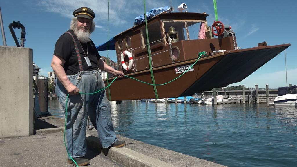 Spätes Glück für früheren Verdingbub: Emil Balmers Sommer auf dem See