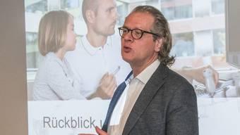 UKBB Jahresmedienkonferenz 2018 mit Fokus Kritik an Tarifstreit mit Versicherern. Marco Fischer