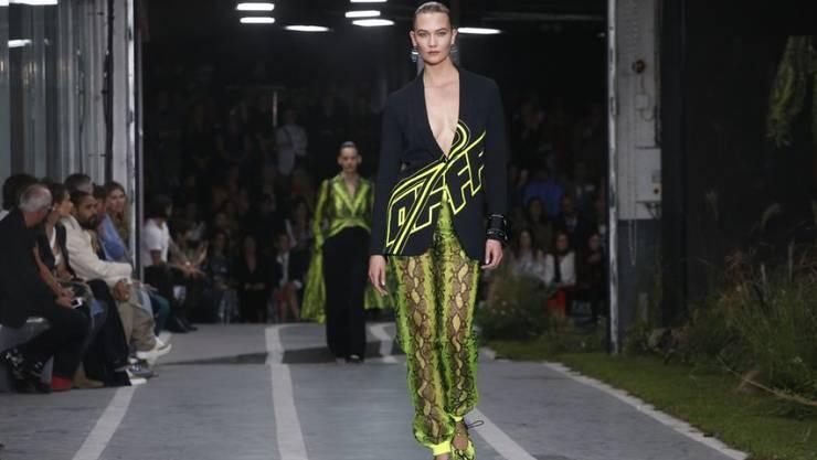 """Model Karlie Kloss ersetzt Heidi Klum bei der US-Castingshow """"Project Runway"""". (Archiv)"""