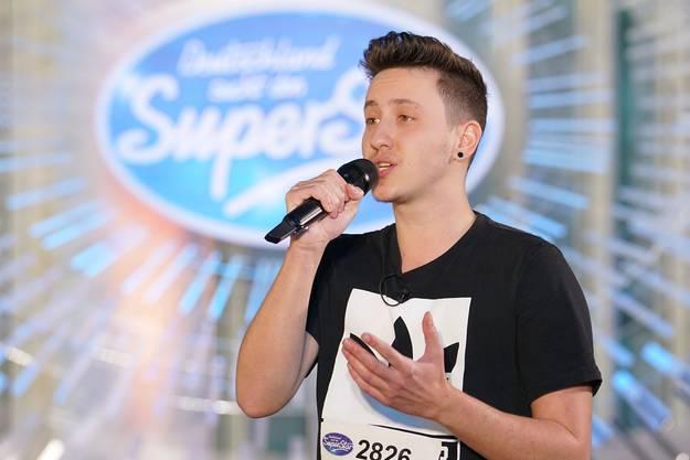 """Leon Marc Weber überzeugte die """"DSDS""""-Jury mit seiner Interpretation eines Liedes von Andreas Gabalier und seiner persönlichen Geschichte."""