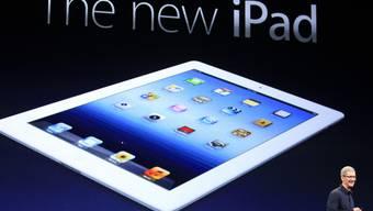 Apple stellt die neue iPad-Generation vor