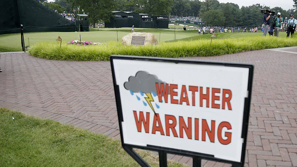 Ungemütliche Zeiten an der US PGA Championship
