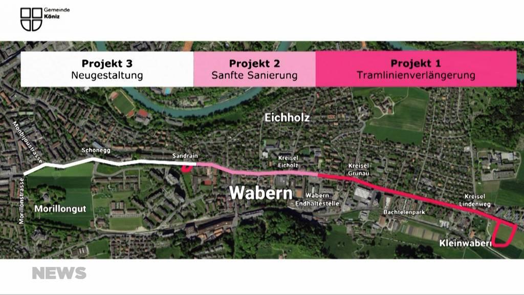 Tramlinie nach Kleinwabern: Verlängerung der Tramlinie 9 rückt näher